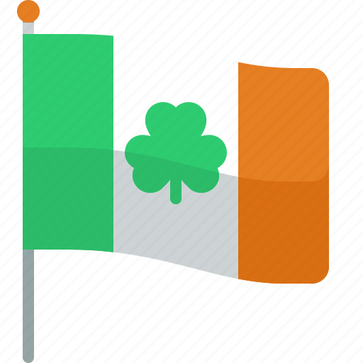 clover, flag, ireland, irish, patrick, shamrock, st patricks day icon