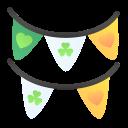 clover, day, garlands, ireland, irish, patricks, st