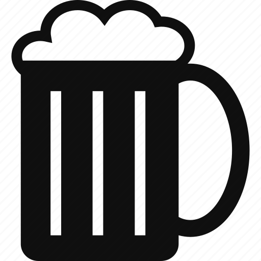beer, beverage, drink, mug icon
