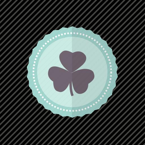 Clover, green, leaf, patricks, rosette, st icon - Download on Iconfinder