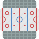 hockey, ice, rink, sport, stadium icon
