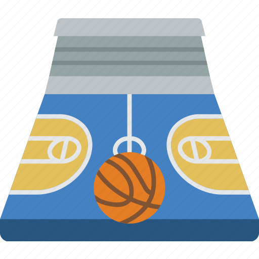 Basketball court icon png