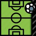 field, football, pitch, soccer, stadium