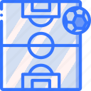 field, football, pitch, soccer, sport, stadium icon