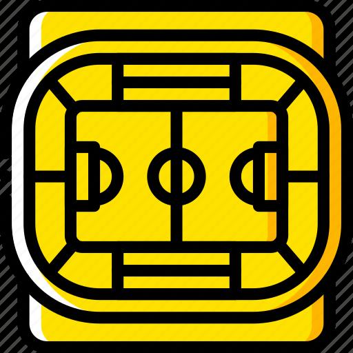 field, football, pitch, soccer, stadium icon