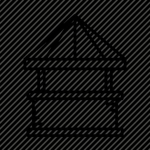 kiosk, mini market, shop, small shop, stall, stand, store icon