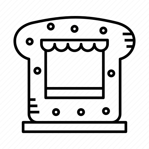 grocery stand, kiosk, merchant, small shop, stall, stand, store icon