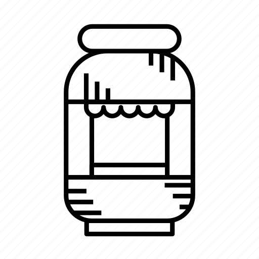 grocery stand, kiosk, merchant, mini market, small shop, stall, stand icon
