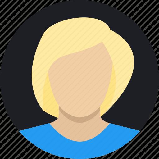 avatar, people, woman icon