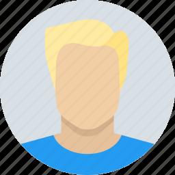blond, boy, child, kid icon