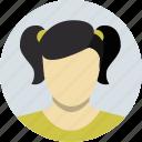 child, girl, avatar