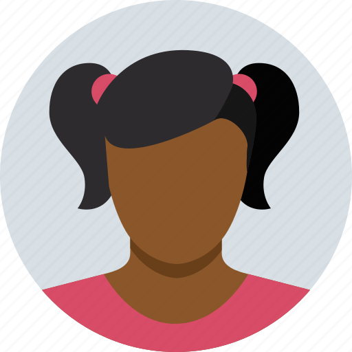 avatar, child, girl, people icon