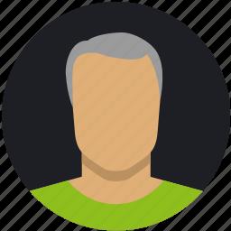grey, male, man, mature icon