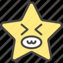 emoji, emotion, face, funny, happy, smile, star