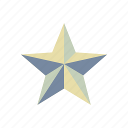 achievement, award, best, bookmark, christmas, pentagram, winner icon