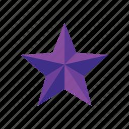 achievement, award, bookmark, favorites, medal, pentagon, star icon