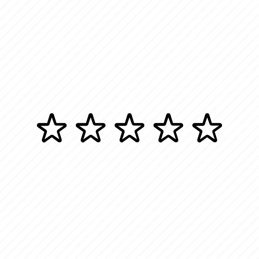 rating, star, zero icon