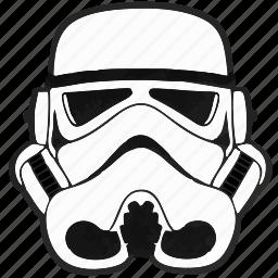 droid, helmet, soldier, star, starwars, wars icon