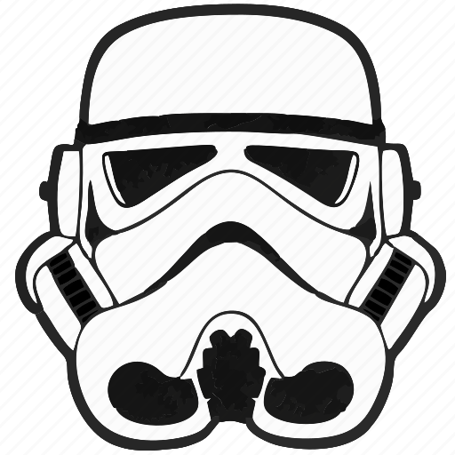 droid, helmet, soldier, star, starwars, storm trooper, wars icon
