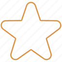 award, rating, bronze, star icon
