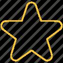 award, gold, rating, star