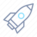 business, launch, rocket, start, startup, take off icon