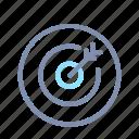 aim, bullseye, dartboard, focus, goal, startup, target