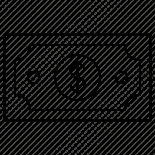 cash, dollar, startup icon
