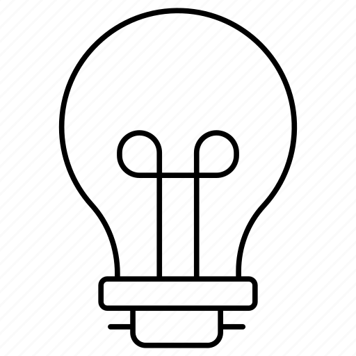 idea, innovation, lamp icon