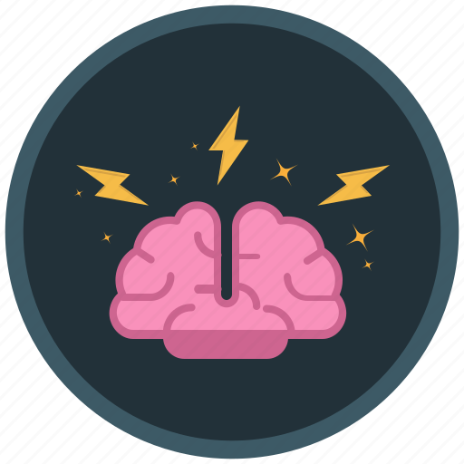 barinstorming, brain, ideas, storm icon