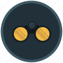 binoculars, observation, perceptivity, remark, research icon