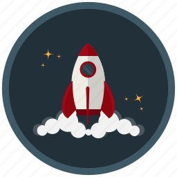 activate, launch, rocket, space, spaceship, startup, steam icon