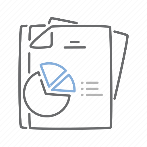 analysis, chart, data, document, graph, pie, statistics icon