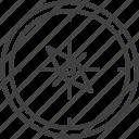 compass, navigation, travel, arrow