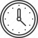 wall, clock, time, watch