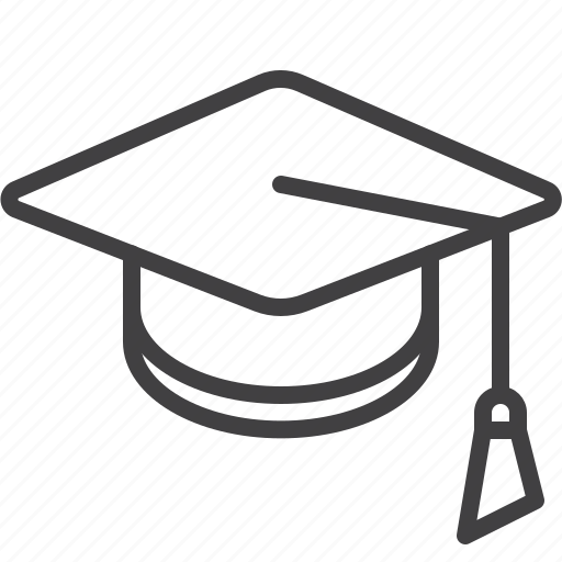 academic, cap, education, graduation, hat, mortarboard icon