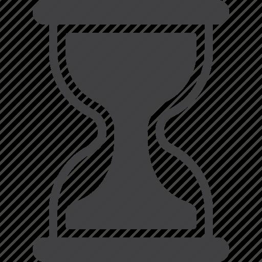 hourglass, sandglass, time icon