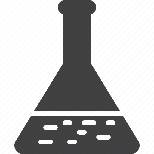 experiment, flask, laboratory icon