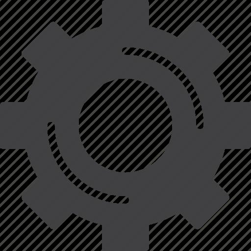 cogwheel, gear, options, settings icon