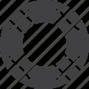 help, lifebelt, lifebuoy icon