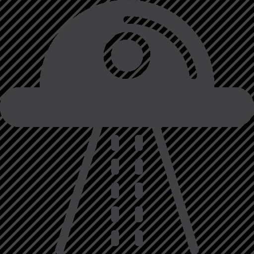 alien, ship, ufo icon
