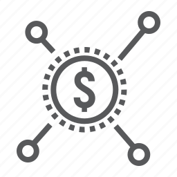 business, crowdfunding, development, dollar, donation, money, sponsor icon
