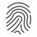 branding, business, development, finger, id, print, security icon