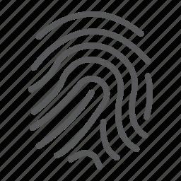 branding, business, development, finger, id, print, security icon