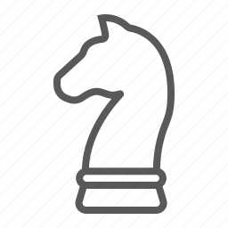 business, chess, development, game, horse, sport, strategy icon