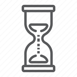 business, clock, countdown, deadline, development, hourglass, old icon