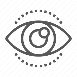 business, development, eye, human, look, see, vision icon