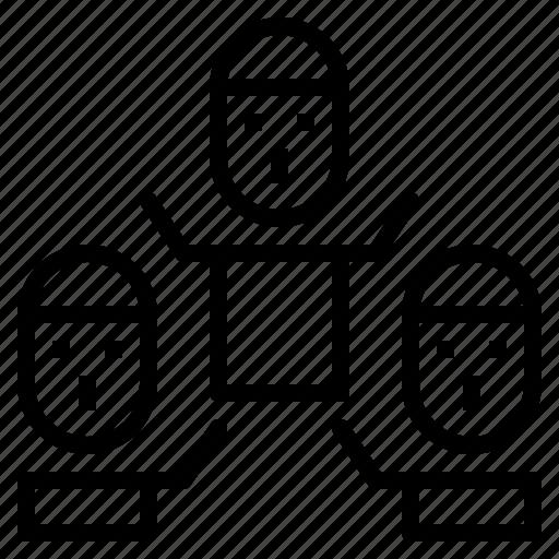 group, men, person, team, teamwork icon