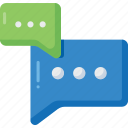 chat, chatting, communication, dialogue, message, talk, text icon