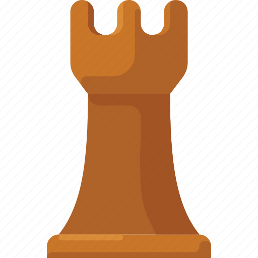 chess, rook, strategy, tower icon